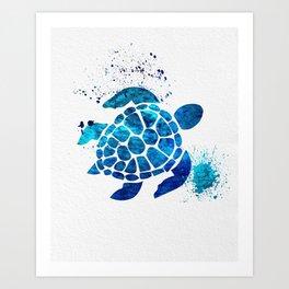 Sea Turtle 015 Art Print