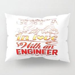 Love with an Engineer Pillow Sham