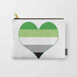 Aromantic Heart Carry-All Pouch