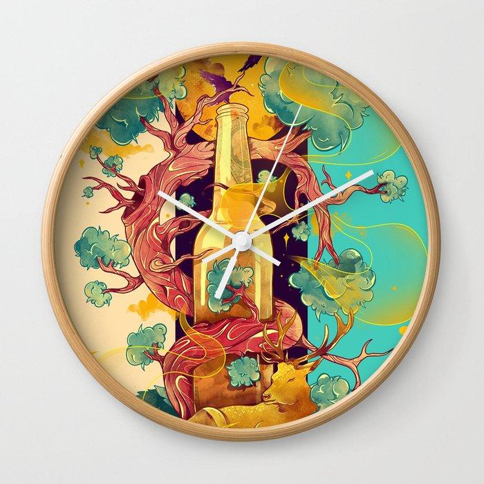 Natural Cycle Wall Clock