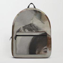 Edouard Manet - Portrait of Countess Albazzi Backpack