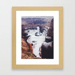 Palouse Falls Framed Art Print
