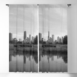 Lincoln Park, Chicago Blackout Curtain