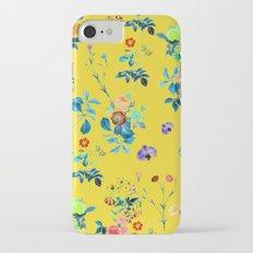 Floral Shower || #society6 #decor #buyart Slim Case iPhone 7