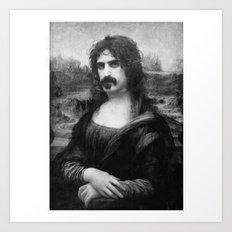 Mona Zappa Art Print