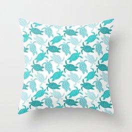Sea Turtles Throw Pillow