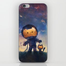 Far Away Mission iPhone Skin