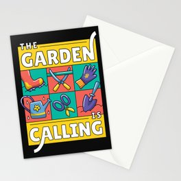 The Garden Is Calling Stationery Cards