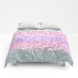 Unicorn Girls Glitter #8 #shiny #pastel #decor #art #society6 Comforters