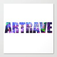 artrave Canvas Prints featuring artRAVE Venus by ARTPOPdesigns