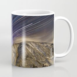Full moon over Torries peak Coffee Mug
