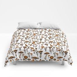 Mushroom Addiction Comforters