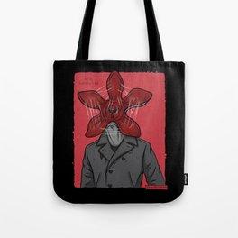 Creature in a coat Tote Bag