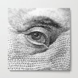 Eyes on you Metal Print
