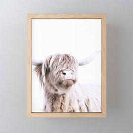 HIGHLAND CATTLE PORTRAIT Framed Mini Art Print