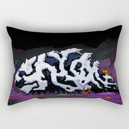 Urban Crawl Rectangular Pillow