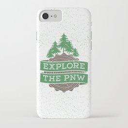 Explore the PNW iPhone Case