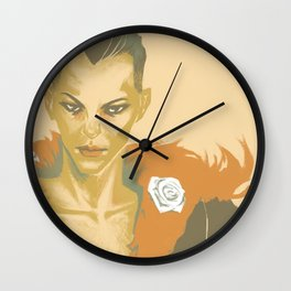 Delilah Copperspoon Wall Clock