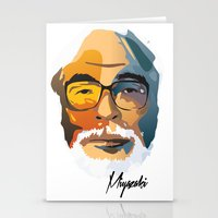 nausicaa Stationery Cards featuring Miyazaki by zero Bounty