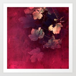 Splendida Bordeaux Art Print