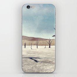 deadvlei desert trees acrfn iPhone Skin