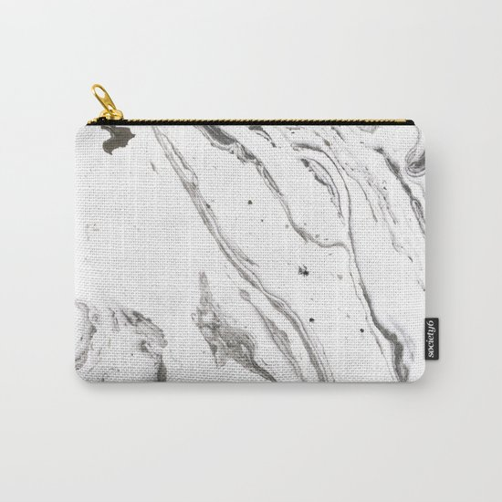 Minimalist marble Carry-All Pouch