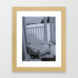 Winter Seaside 1 Framed Art Print