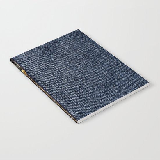 Denim Zip Notebook