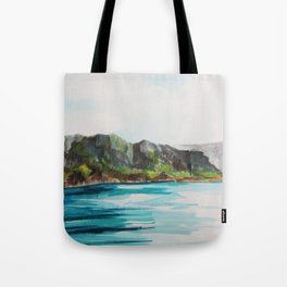 Napali Coast Dreaming Tote Bag