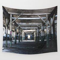 industrial Wall Tapestries featuring Industrial II by Renata's Photobox