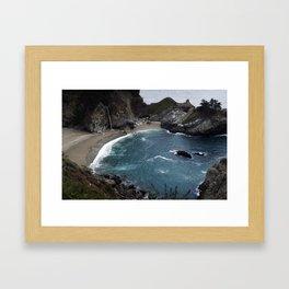 Pfeiffer Beach at Big Sur Framed Art Print