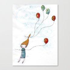 Balloonessa Canvas Print