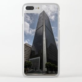 SkyScrapping Clear iPhone Case