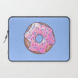 Pink Strawberry Donut Laptop Sleeve