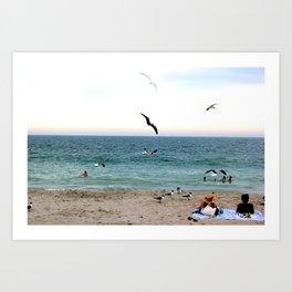 Bethany Beach, DE Art Print