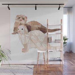 Ferrets Wall Mural