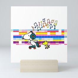 Snoopy Woodstock Peanuts Mini Art Print