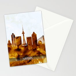 Harbin China Skyline Stationery Cards