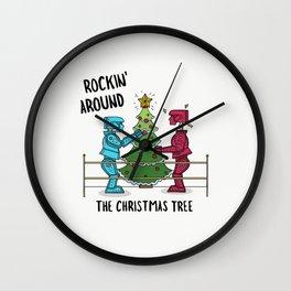Rockin Robots Wall Clock