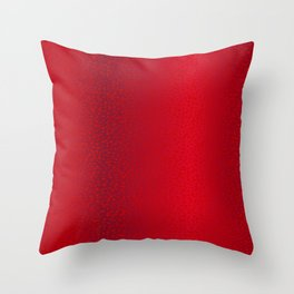Red Star Background Throw Pillow