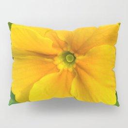 Yellow Heartsease Flower Pillow Sham