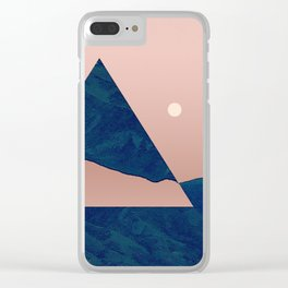 Triangle - Opposite Clear iPhone Case