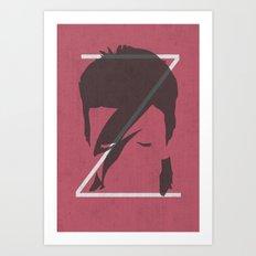 Z is for Ziggy Art Print