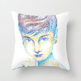 Tiffany Tiles Throw Pillow
