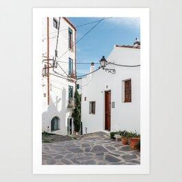 The House - Cadaques, Catalunya Art Print