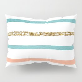 Sparkle Stripe Pillow Sham