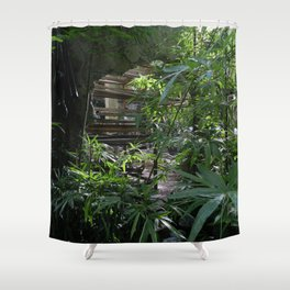 The Orchid Station Shower Curtain