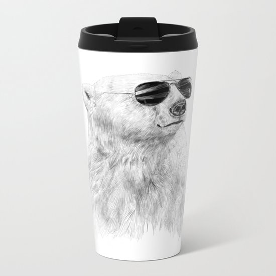 Don't let the sun go down Metal Travel Mug