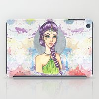 princess iPad Cases featuring Princess by Lagoonartastic