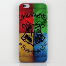 Hogwarts House Crest HP iPhone Skin